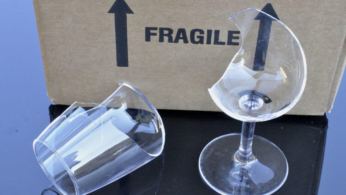 cartons fragiles