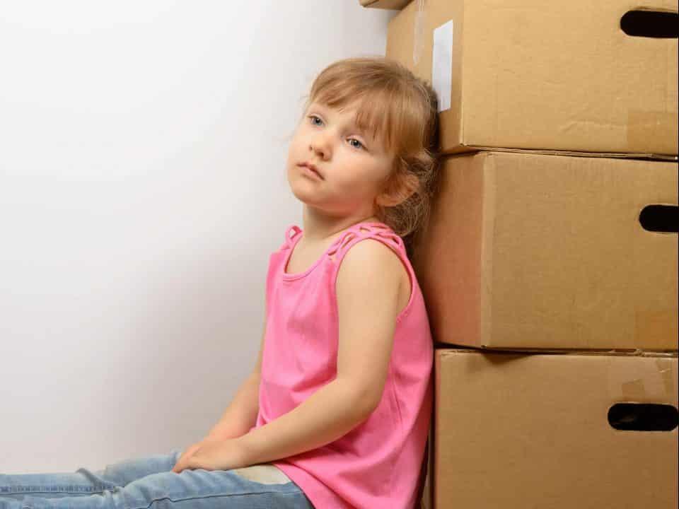 déménagement et enfants